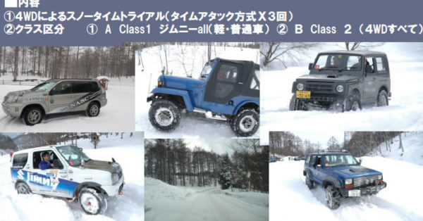NASC SNOW TRIAL in OMACHI 【2012】
